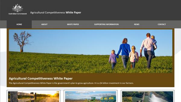 Agriculture Competitivness White Paper
