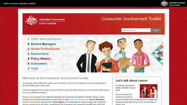 Consumer Involvement Toolkit