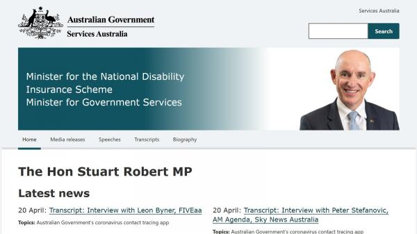 Minister for the National Disability Insurance Scheme and Minister for Government Services