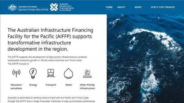 Australian Infrastructure Financing Facility for the Pacific
