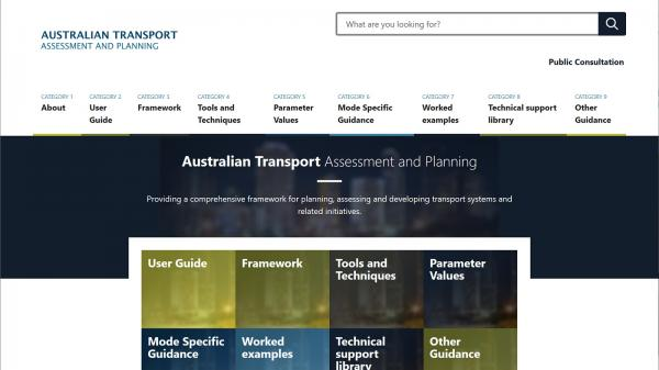 Australian Transport Assessment and Planning