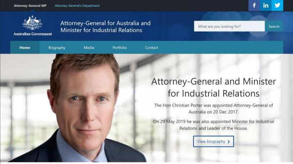 Attorney-General and Minister for Industrial Relations