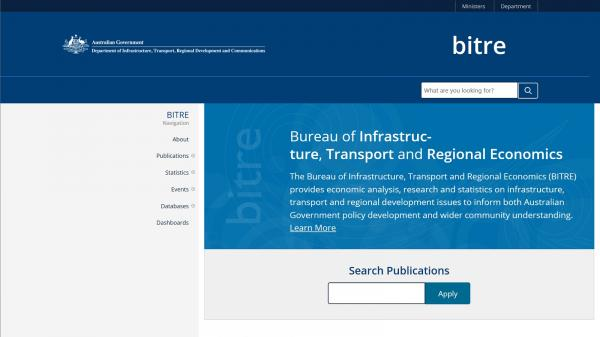 Bureau of Infrastructure, Transport and Regional Economics