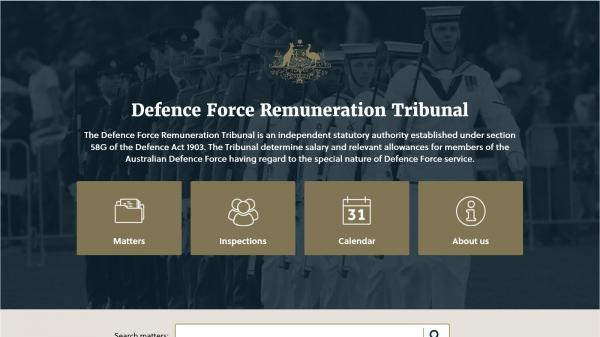 Defence Force Remuneration Tribunal