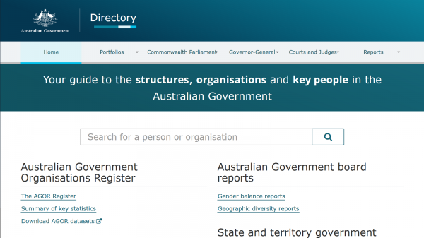 Government Online Directory