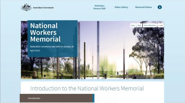 National Workers Memorial