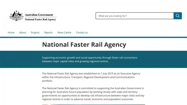National Faster Rail Agency