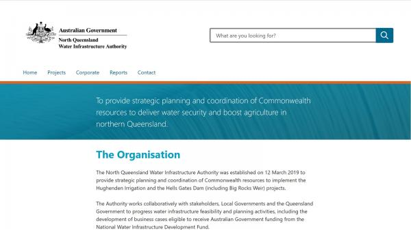 North Queensland Water Infrastructure Authority