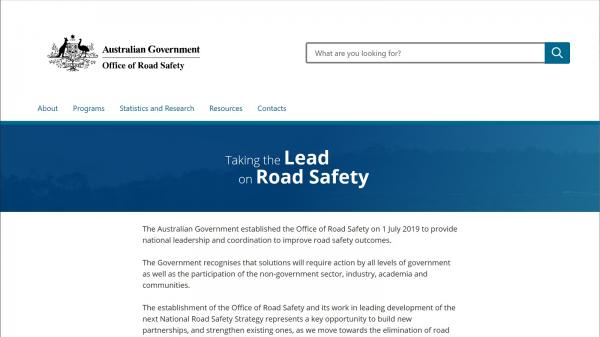 Office of Road Safety