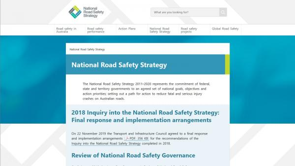 National Road Safety Strategy