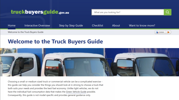 Truck Buyers Guide